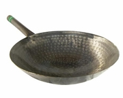 The Wok Shop's carbon steel hand hammered 'pow' wok