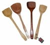 Wood or Bamboo Spatulas