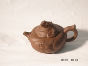 Yi Xing Clay Teapot w/ dragon design