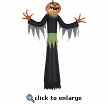12' LED Projection Kaleidoscope Man-Pumpkin