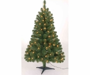 4' Prelit Kingston Tree 100 cl lights