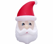 5ft. Inflatable LED Santa Head