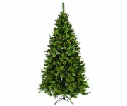 7.5' Nordmann Fir Pre-Lit Tree (600 clear OR multi lights)
