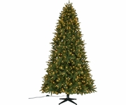 7.5' Quick Set Fort Smith PE/PVC Tree 700 Clear Lights
