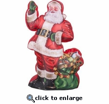 7' Photorealistic Inflatable Santa