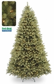 "Poly ""Feel Real"" Delran Douglas Prelit Artificial Christmas Trees"