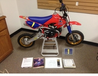 "BBR ""David Bailey"" Tribute Honda CRF50 Complete Bike"