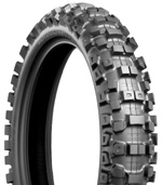 "Bridgestone M404 70/100-10"" Rear Tire"
