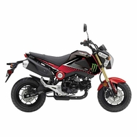 Honda GROM Graphics Kit Monster Energy by Factory Effex