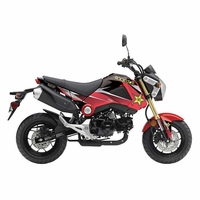 Honda GROM Graphics Kit Rockstar Energy by Factory Effex