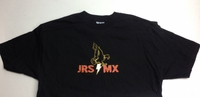JRS MX T-Shirt Black - Eagle Logo - Men's Large