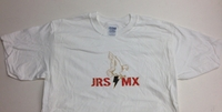 JRS MX T-Shirt White - Eagle Logo - Men's Medium
