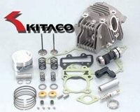 Kawasaki KLX110 143 Bore-up with Super Head by Kitaco