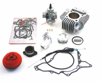 <B>Kawasaki KLX110 143cc Bore Kit and Mikuni VM26mm Carb Kit by Trail Bikes