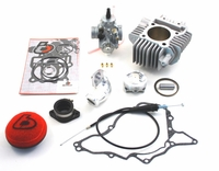 Kawasaki KLX110 143cc Bore Kit and Mikuni VM26mm Carb Kit by Trail Bikes