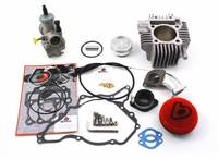 <B>Kawasaki KLX110 165cc Bore Kit and 28mm Carb Kit - Trail Bikes