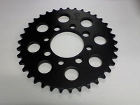 Kawasaki KLX110 Rear Sprocket (Black) 37 Tooth by JT