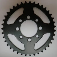 Kawasaki KLX110 Rear Sprocket (Black) 39 Tooth by JT