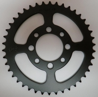 Kawasaki KLX110 Rear Sprocket (Black) 42 Tooth by JT