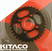 Kawasaki KLX110 Rear Sprocket (Black) by Kitaco
