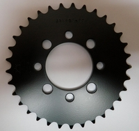 Kawasaki KLX110 Rear Sprocket by JT (Black) 33 Tooth