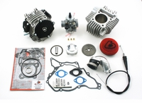 Kawasaki KLX110 Trail Bikes 143cc Bore Kit, Race Head and VM26mm Carb Kit by Trail Bikes