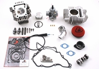 Kawasaki KLX110 V2 Race Head 143cc Complete Kit by Trail Bikes