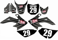 Suzuki DRZ 70 Graphics Kit (Gray) Lines Series by FastTimes