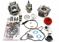 TB 165cc Bore Kit, Race Head V2, and 28mm Carb Kit