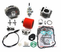 TB Race Head, 88cc Bore & 20mm Carb Kit - 82 & 91-94 Model Honda CT70