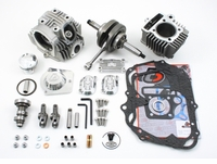 "Trail Bikes ""V2"" Race Head Kit, 88cc Bore Kit, and Stroker Crank Honda CRF50"