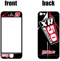 XR50.COM i-Phone Sticker Kit (Black) Arrow Series