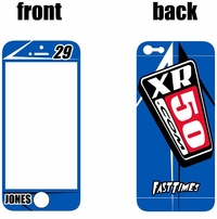 XR50.COM i-Phone Sticker Kit (Blue) Arrow Series