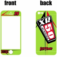 XR50.COM i-Phone Sticker Kit (Green) Arrow Series