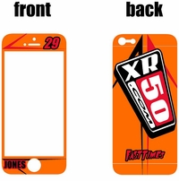 XR50.COM i-Phone Sticker Kit (Orange) Arrow Series