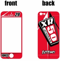 XR50.COM i-Phone Sticker Kit (Red) Arrow Series