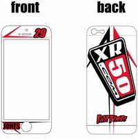 XR50.COM i-Phone Sticker Kit (White) Arrow Series