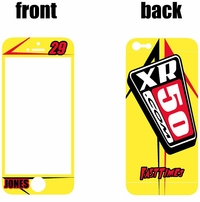XR50.COM i-Phone Sticker Kit (Yellow) Arrow Series