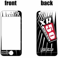 XR50.com i-Phone Lines Sticker Kit (Black)