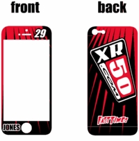 XR50.com i-Phone Lines Sticker Kit (Black/Red)