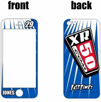 XR50.com i-Phone Sticker Kit (Blue) Lines Series