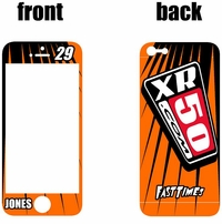 XR50.com i-Phone Sticker Kit (Orange) Lines Series