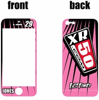XR50.com i-Phone Sticker Kit (Pink) Lines Series