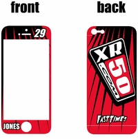 XR50.com i-Phone Sticker Kit (Red) Lines Series