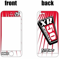 XR50.com i-Phone Sticker Kit (White) Lines Series