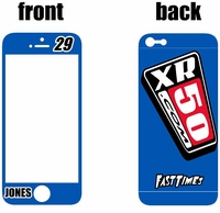 XR50.com i-Phone Sticker Kit (Blue) Clean Series