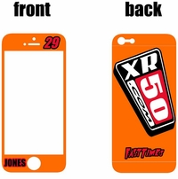 XR50.com i-Phone Sticker Kit (Orange) Clean Series
