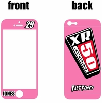 XR50.com i-Phone Sticker Kit (Pink) Clean Series