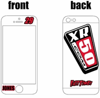 XR50.com i-Phone Sticker Kit (White) Clean Series