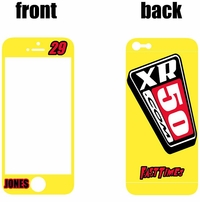 XR50.com i-Phone Sticker Kit (Yellow) Clean Series